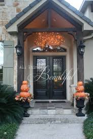 halloween garage decorations 58 garage door fall decorating ideas love the square wreath on