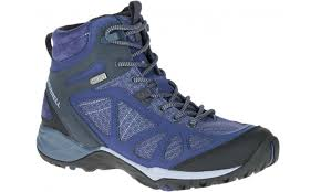 buy womens hiking boots australia siren iq mid wp crown blue shoes merrell australia