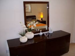 Mirror Dressers Bedroom Large Bedroom Dressers With Brown Framed Mirror Also Two