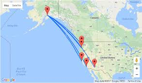 us map anchorage alaska summer west coast usa to anchorage alaska from 173