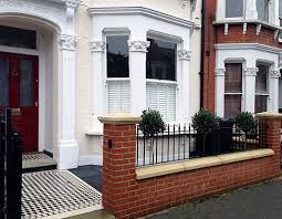 Front Garden Walls Ideas Front Garden Gardens And Search Wall Fence