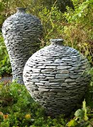 diy rock covered bucket easy project natural stones stone and