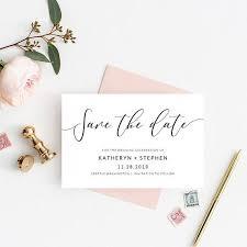 Wedding Save The Dates The 25 Best Minimal Wedding Save The Dates Ideas On Pinterest