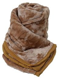 Fake Fur Throws Large Double Fleece Blanket Faux Fur Throws Soft Bed Sofa Home