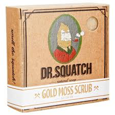 Scrub Gold dr squatch gold moss scrub bar soap pomade