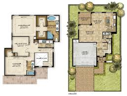 home design top 5 bedroom house plans 2 story and small