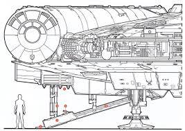 millenium falcon floor plan falcon a landing gear