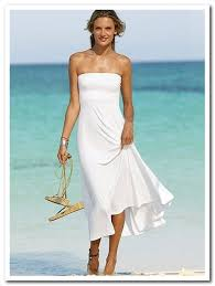 Informal Wedding Dresses Casual Wedding Dresses For Second Marriages Bridesmaid White