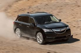 acura jeep 2013 2014 acura mdx sh awd first test truck trend