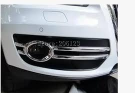 audi q5 cover fit for 2009 2012 for audi q5 chrome front fog light cover trim