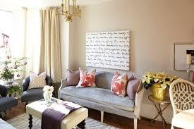 gray velvet settee contemporary living room meredith heron