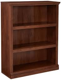 Sauder Bookcase 5 Shelf by Amazon Com Sauder 3 Shelf Bookcase Jamocha Wood Finish Kitchen