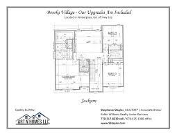 house plans for brooks village pendergrass ga