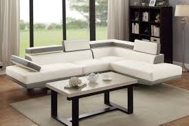 modern furniture in los angeles ca jezebel white leather sectional sofa steal a sofa furniture