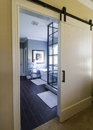 Barn Door To Bathroom by Master Bathroom Hollywood Makeover U2014 The Stiers Aesthetic
