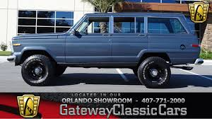 old jeep grand wagoneer 1986 jeep grand wagoneer gateway classic cars 1075 ord