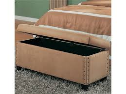 delighful diy end of bed storage bench tufted in decorating ideas