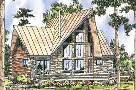 Wide House Plans by A Frame House Plans Chinook 30 011 Associated Designs