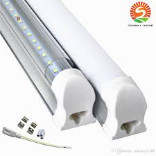 4ft led tube light integrated 4 ft led tube light bulbs frosted clear cover 100lm w