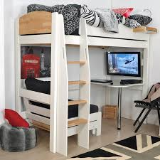High Sleeper With Sofa High Sleeper Loft Beds With Sofabed Futon Sofa Desk Storage