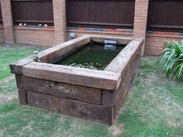 What Type Of Wood For Raised Garden - best 25 raised pond ideas on pinterest fish ponds koi pond
