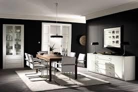 black white living room home design and decor