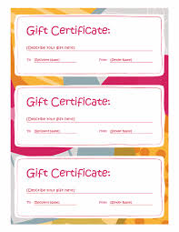 gift certificate template word 2003 8 gift certificate template