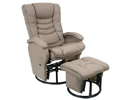 Best Nursing Rocking Chair Furniture Comfortable Beige Glider Chair With Beige Ottoman And