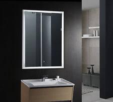 Backlit Mirrors For Bathrooms Backlit Mirror Ebay