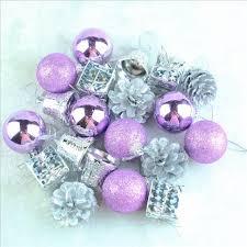 chasanwan 20pcs set tree ornament purple tree