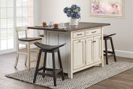 shop the look rustic ancient mission island set amish kitchen
