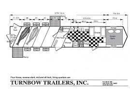 horse trailer living quarter floor plans slant load floor plans 3 custom luxury horse trailers horse