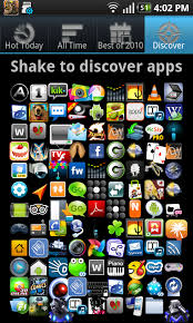 apps for android apps shake to discover apps androidtapp