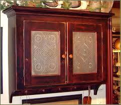 Cabinet Door Glass Insert Cabinet Door Inserts Punched Tin Wooden Glass Insert Hardware