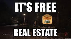 It S Free Meme - it s free real estate jason real estate meme generator