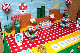 Super Mario Decorations Have Fun With Super Mario Birthday Party U2014 Criolla Brithday U0026 Wedding