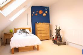 Small Loft Bedroom Furniture Bedroom Kids Room Furniture With White Sloped Ceiling And Couble
