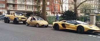 arab wrap gold ford ka trolls arab gold wrap g63 amg aventador and