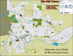 Wy Map Disc Golf Courses Cheyenne Wy Official Website