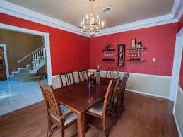 dining room two tone paint ideas alliancemv com