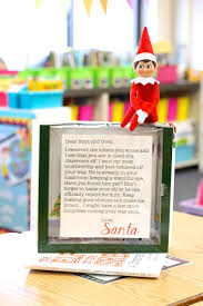 Letter Shelf Preparing For My Classroom Elf Freebie Included