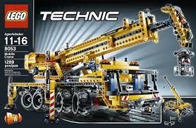 lego technic amazon com lego technic mobile crane 8053 toys