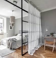separateur de chambre séparateur de pièce rideau chambre à coucher espace de travail