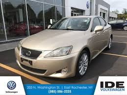 pre owned lexus is 250 pre owned 2006 lexus is 250 auto 4dr car in rochester uw1711