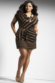 slimming dresses for plus size