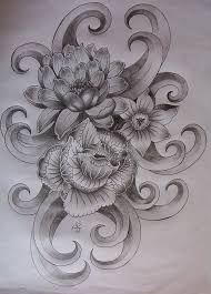 19 best flower tattoos designs images on pinterest fabric