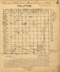 Illinois Township Map by Maps Local History
