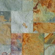 Peacock Slate Floor Tiles by Home Depot Slate Tile Home U2013 Tiles