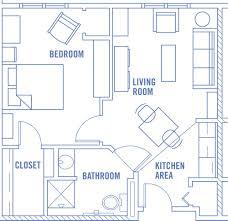 bedroom large 1 bedroom apartments floor plan vinyl throws table