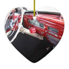 1950s american car ornaments keepsake ornaments zazzle